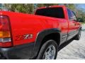 2000 Victory Red Chevrolet Silverado 1500 LS Extended Cab 4x4  photo #15