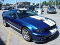 2007 Vista Blue Metallic Ford Mustang Shelby GT500 Coupe  photo #19