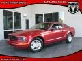 2007 Redfire Metallic Ford Mustang V6 Deluxe Coupe  photo #1