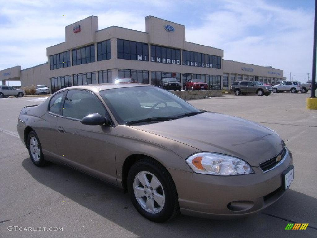 2006 Monte Carlo LT - Amber Bronze Metallic / Ebony photo #1