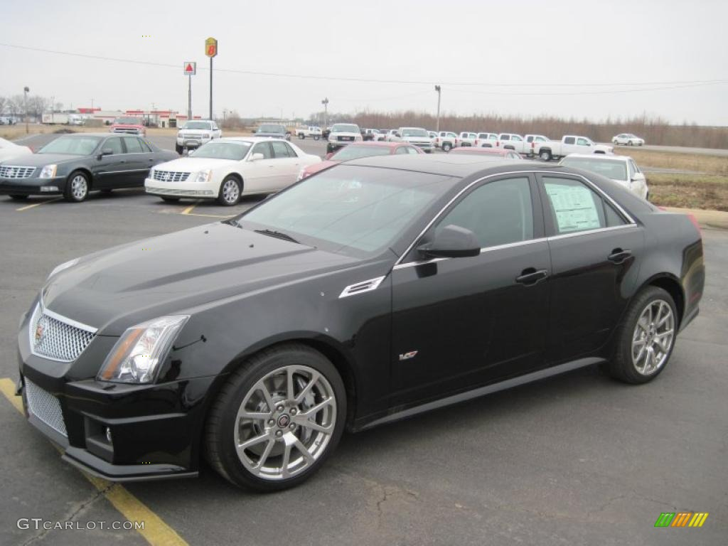 2010 black raven cadillac cts v sedan 27449353. Black Bedroom Furniture Sets. Home Design Ideas