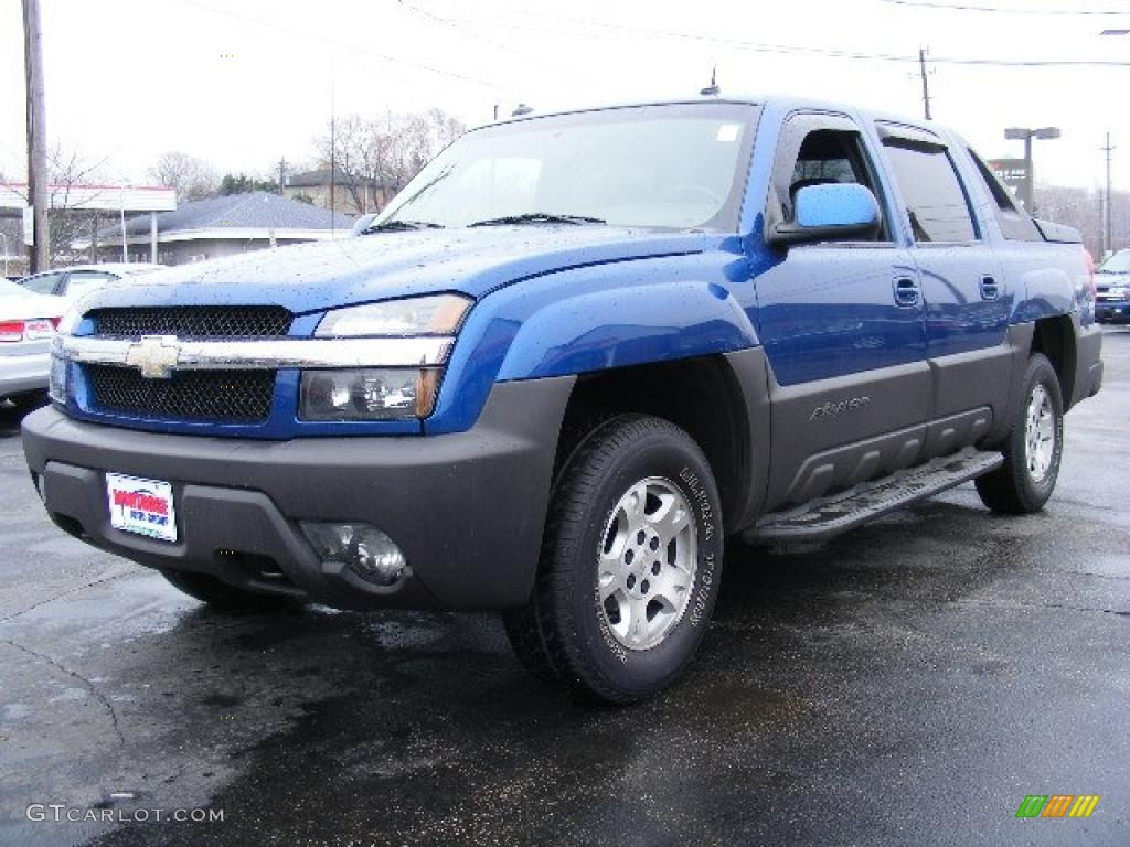 2003 arrival blue chevrolet avalanche z66 27448995 car color galleries. Black Bedroom Furniture Sets. Home Design Ideas