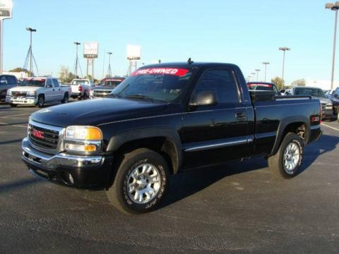 2006 gmc sierra 1500 z71 regular cab 4x4 data info and. Black Bedroom Furniture Sets. Home Design Ideas