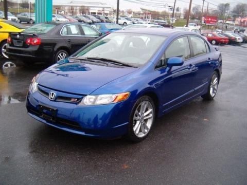 2008 honda civic si sedan data info and specs. Black Bedroom Furniture Sets. Home Design Ideas