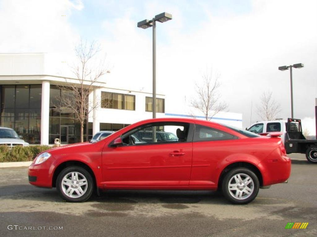 2007 Victory Red Chevrolet Cobalt Lt Coupe 27449555