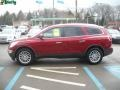 2009 Red Jewel Tintcoat Buick Enclave CXL AWD  photo #6