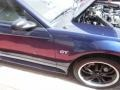 2001 True Blue Metallic Ford Mustang GT Coupe  photo #26