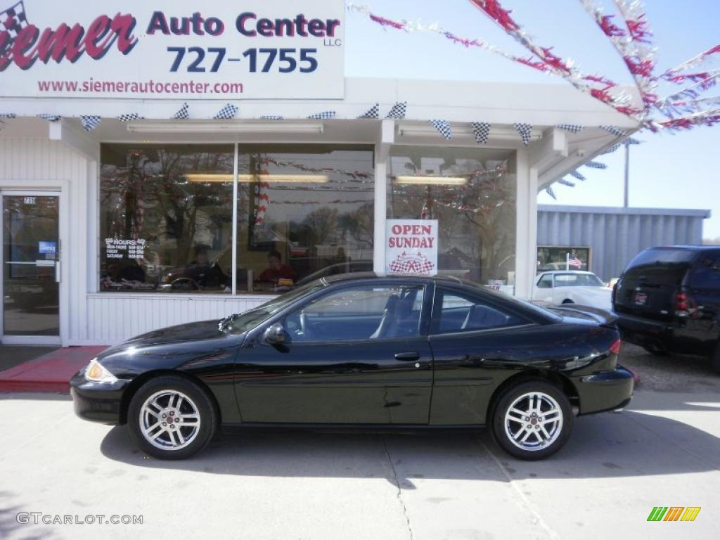 2002 black chevrolet cavalier ls sport coupe 27449237 gtcarlot com car color galleries gtcarlot com