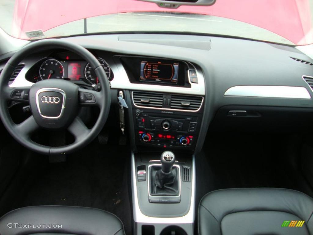 2009 audi a4 2 0t premium quattro sedan black dashboard