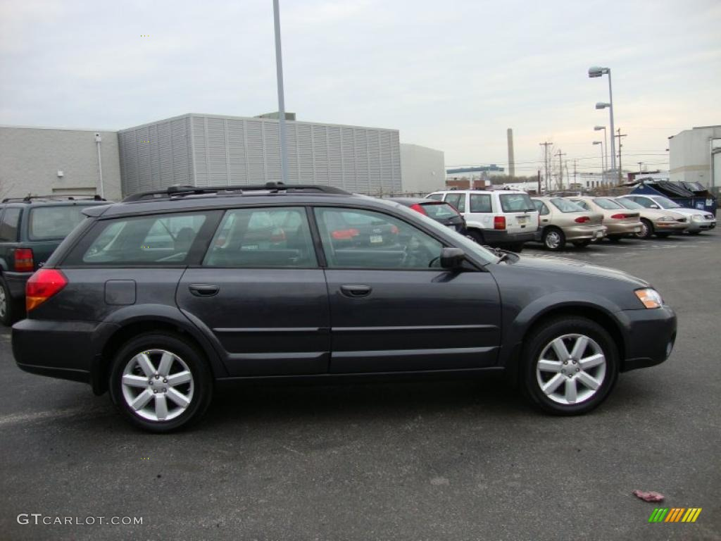 2007 Diamond Gray Metallic Subaru Outback Limited Wagon 27498898 Photo 6