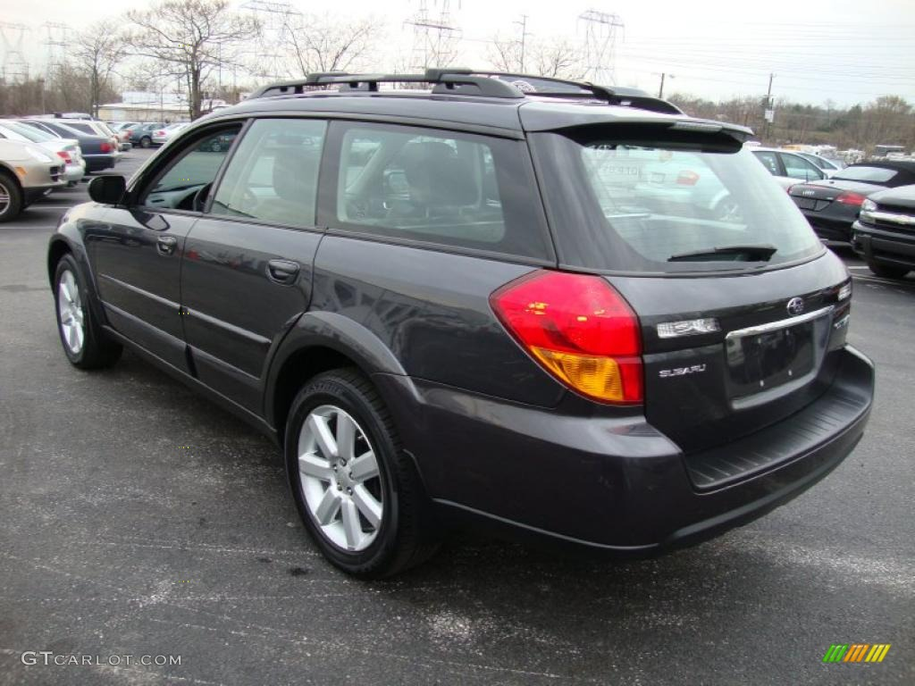 2007 Diamond Gray Metallic Subaru Outback Limited Wagon 27498898 Photo 9