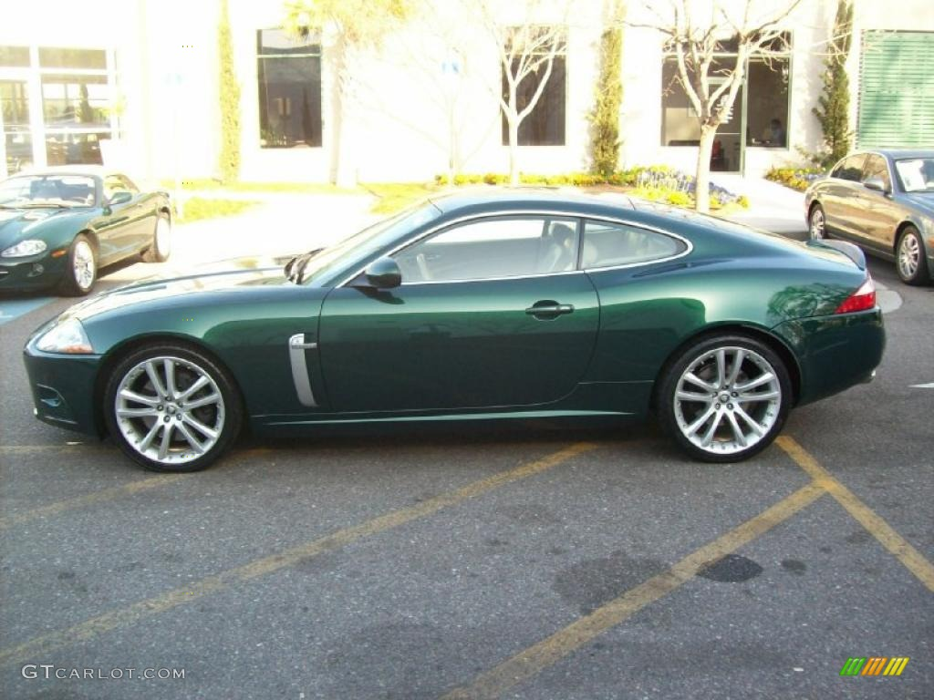2008 xk xkr coupe emerald fire metallic caramel photo 2