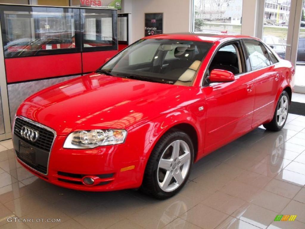2005 brilliant red audi a4 2 0t quattro sedan 27499386 photo 12 gtcarlot com car color