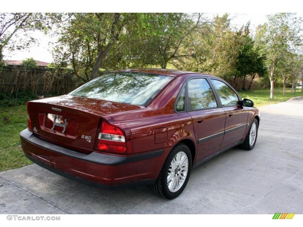 2001 s80 t6 venetian red metallic taupe light taupe photo 9