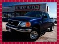 True Blue Metallic 2004 Ford F150 XL Heritage SuperCab 4x4