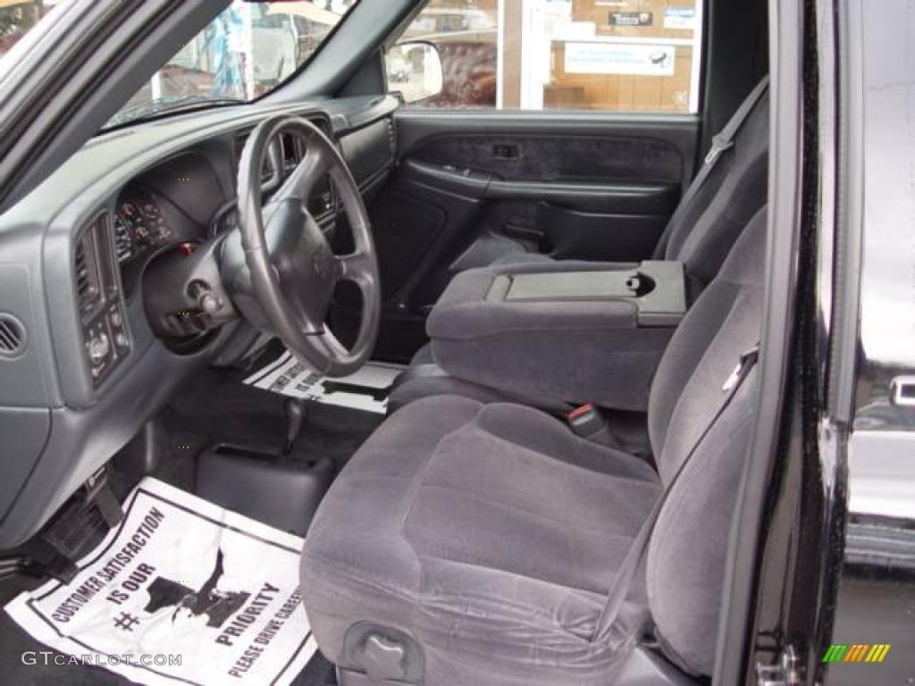 2000 Onyx Black Chevrolet Silverado 1500 Ls Regular Cab 4x4 2747004 Photo 9