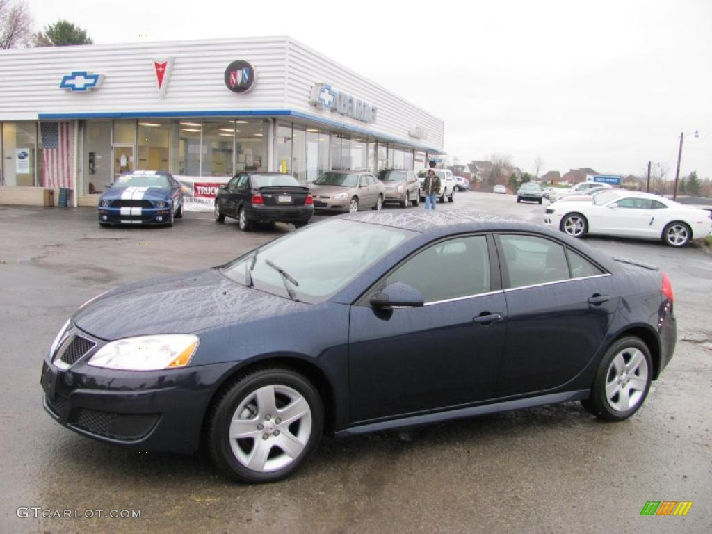 2010 Midnight Blue Metallic Pontiac G6 Sedan 27499334