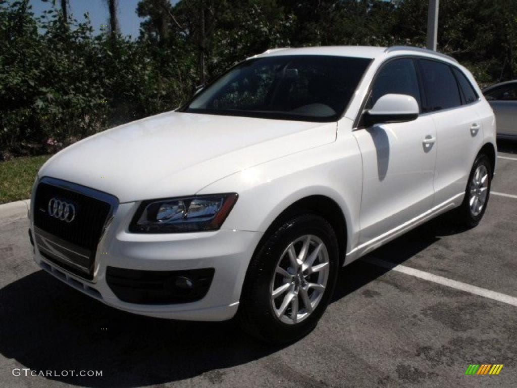 2009 ibis white audi q5 3 2 premium quattro 27499166 car color galleries. Black Bedroom Furniture Sets. Home Design Ideas