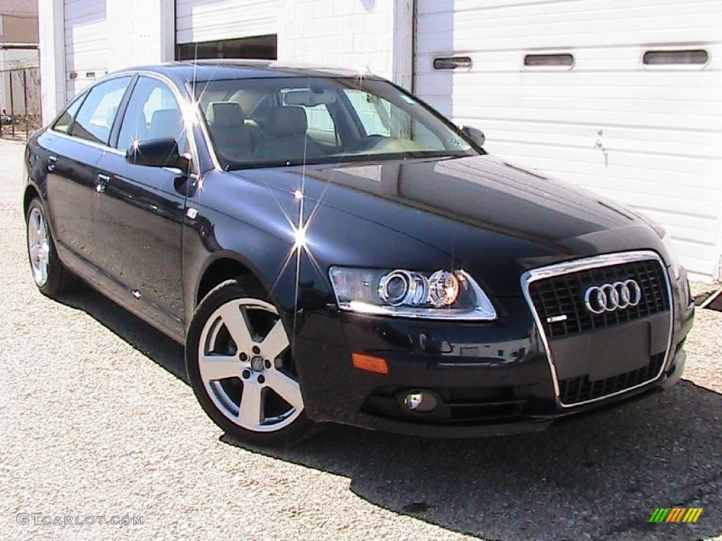 2008 night blue pearl effect audi a6 3 2 quattro sedan 27543964 car color. Black Bedroom Furniture Sets. Home Design Ideas