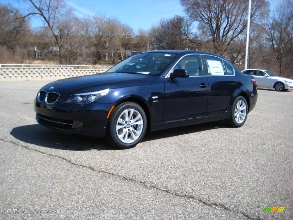 2010 monaco blue metallic bmw 5 series 535i xdrive sedan. Black Bedroom Furniture Sets. Home Design Ideas