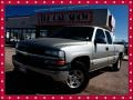 2002 Light Pewter Metallic Chevrolet Silverado 1500 LT Extended Cab 4x4  photo #1