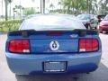 2007 Vista Blue Metallic Ford Mustang V6 Premium Coupe  photo #4
