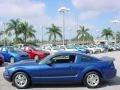 2007 Vista Blue Metallic Ford Mustang V6 Premium Coupe  photo #6
