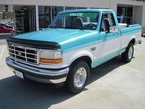 on 1994 Ford F 150 Colors