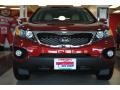 2011 Spicy Red Kia Sorento EX  photo #12
