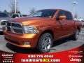 Mango Tango Pearl - Ram 1500 SLT Crew Cab Photo No. 1