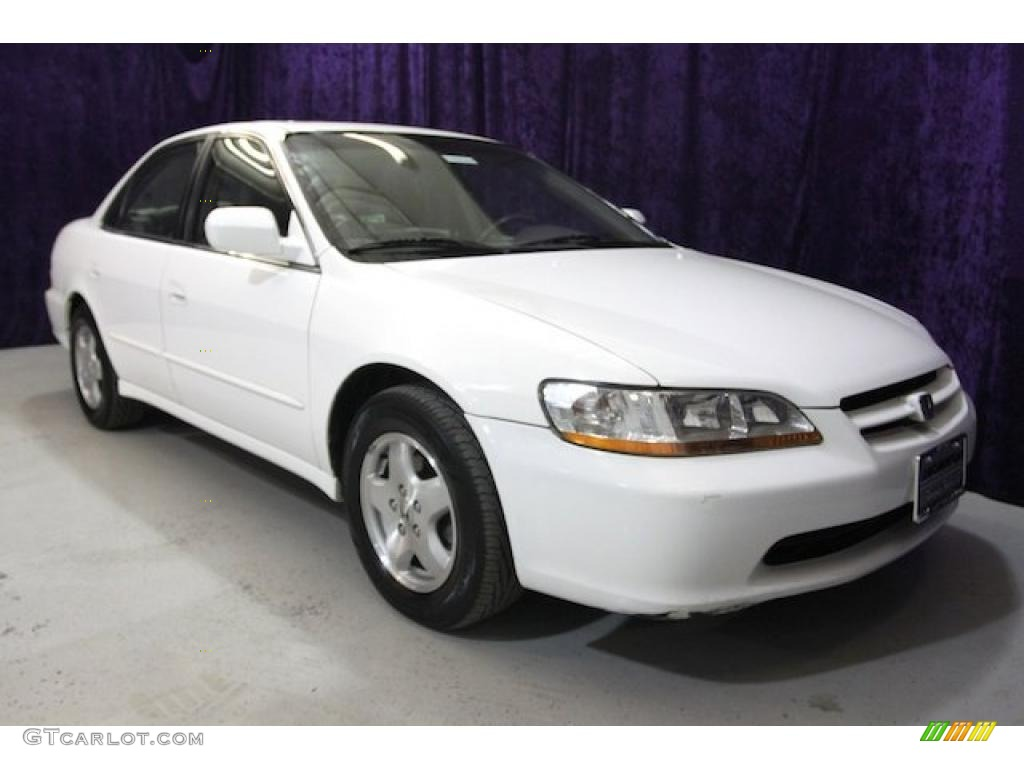 2000 Taffeta White Honda Accord Ex V6 Sedan 27544455
