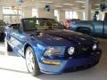 2007 Vista Blue Metallic Ford Mustang GT Premium Convertible  photo #3