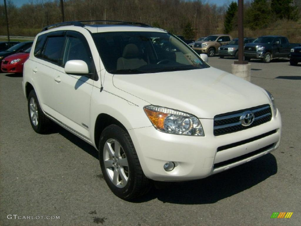 2006 blizzard white pearl toyota rav4 limited 4wd 27544970 car color galleries. Black Bedroom Furniture Sets. Home Design Ideas