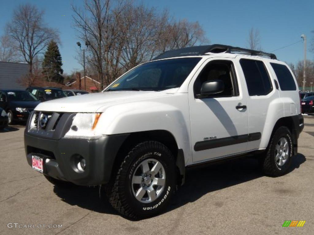 2006 avalanche white nissan xterra off road 4x4 27625355. Black Bedroom Furniture Sets. Home Design Ideas