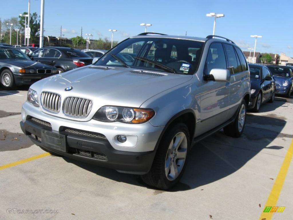 2005 titanium silver metallic bmw x5 27625808 car color galleries. Black Bedroom Furniture Sets. Home Design Ideas