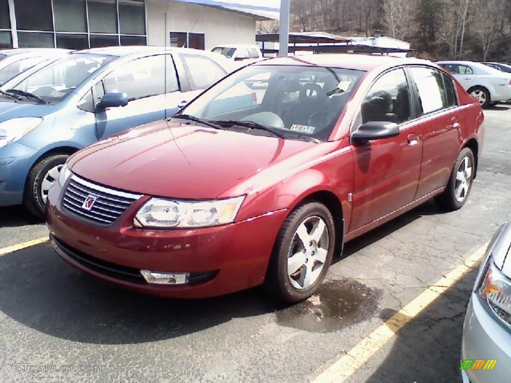 2006 berry red saturn ion 3 sedan 27625060 gtcarlot car berry red saturn ion vanachro Images