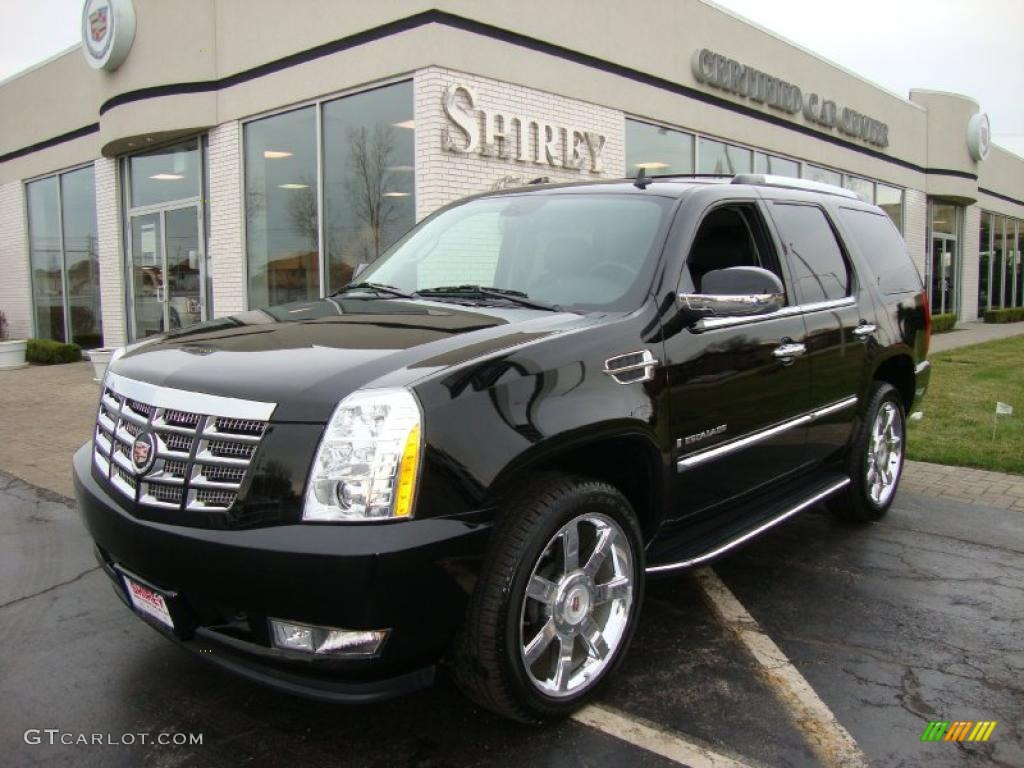 2009 black raven cadillac escalade awd 27625265 car color galleries. Black Bedroom Furniture Sets. Home Design Ideas