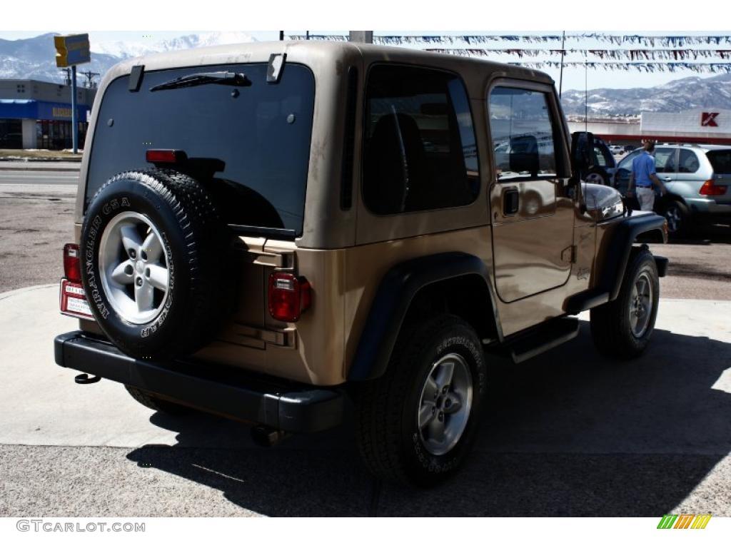 2000 desert sand pearl jeep wrangler sport 4x4 27625463