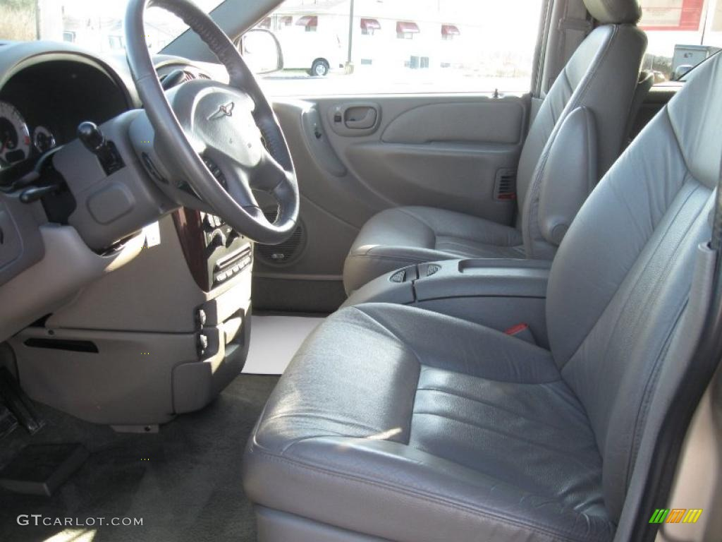 2001 champagne pearl chrysler town country lxi 27625465 - 2001 chrysler town and country interior ...