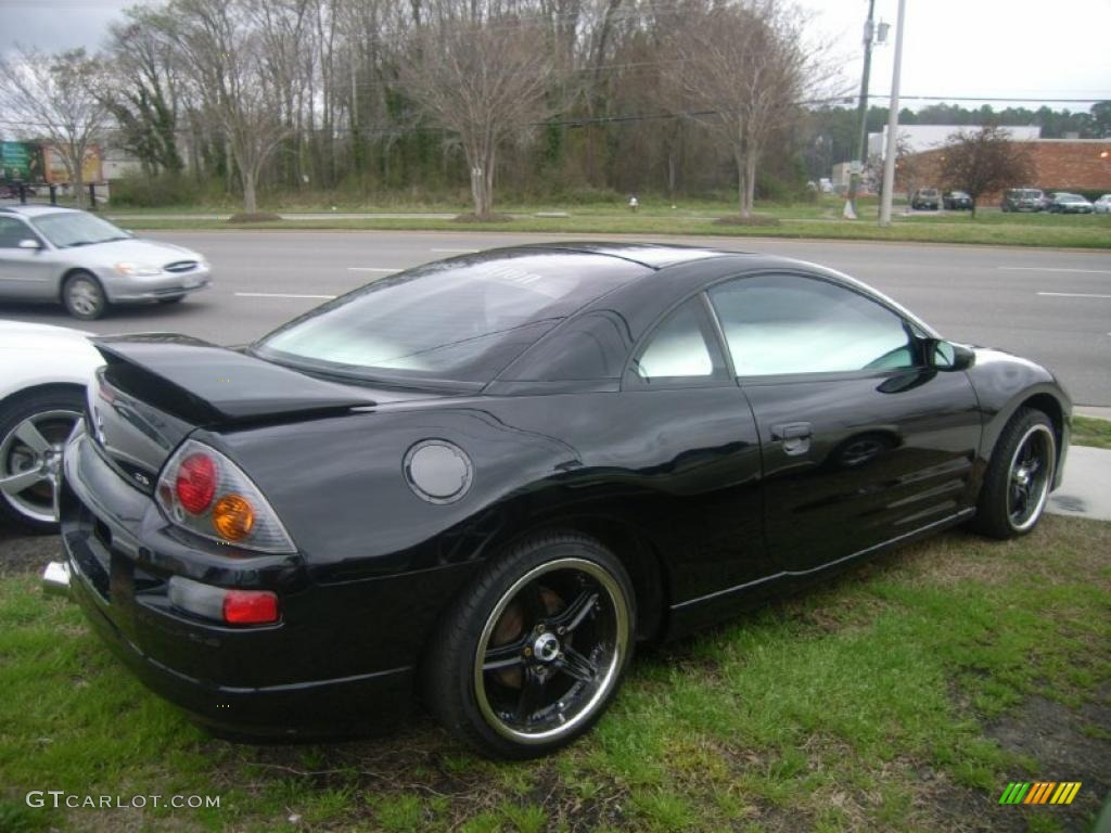 2005 Eclipse Gs Coupe Kalapana Black Midnight Photo 6