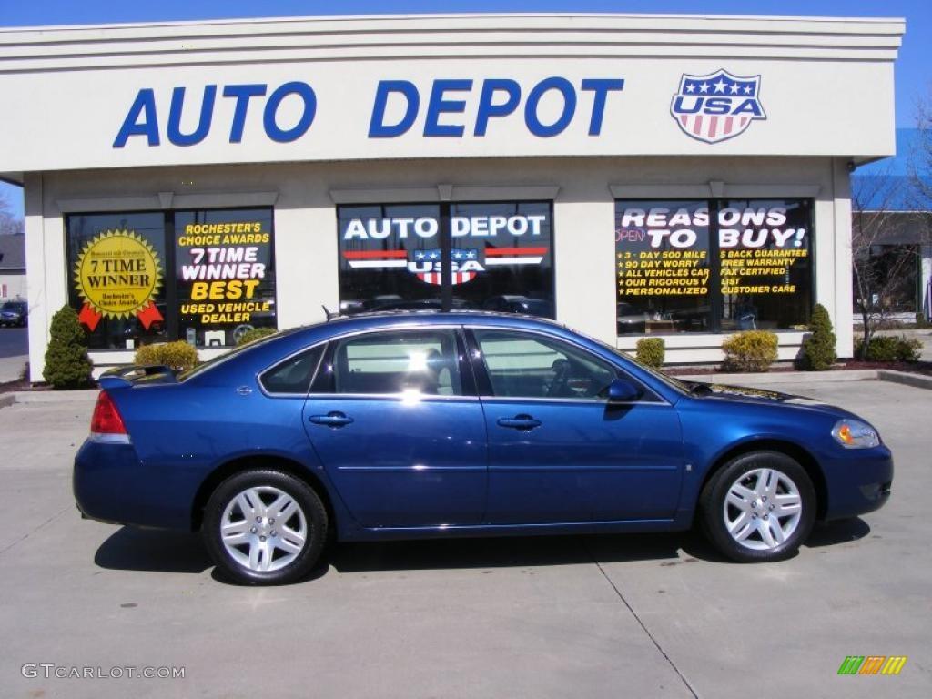 2006 laser blue metallic chevrolet impala lt #27625305 | gtcarlot