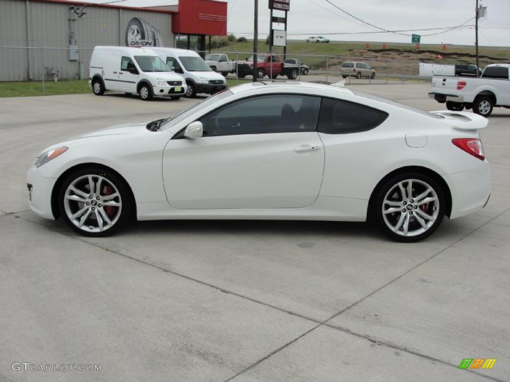 2010 Karussell White Hyundai Genesis Coupe 3 8 Track