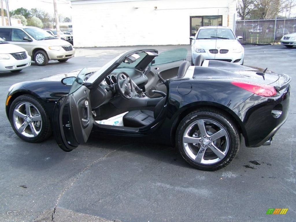 2008 Mysterious Black Pontiac Solstice Gxp Roadster