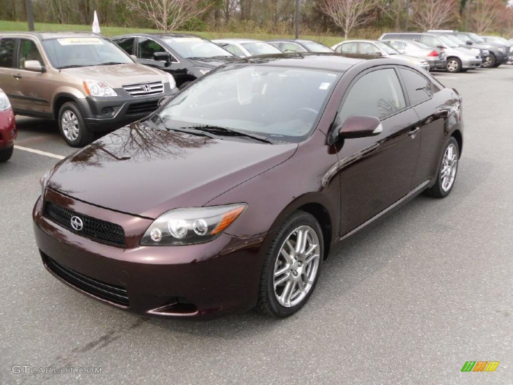 2008 Black Cherry Pearl Scion Tc 27625959 Gtcarlot Com Car