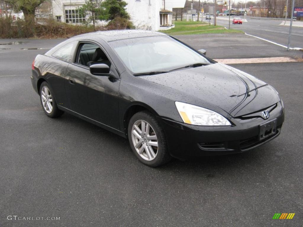 2004 nighthawk black pearl honda accord ex v6 coupe. Black Bedroom Furniture Sets. Home Design Ideas
