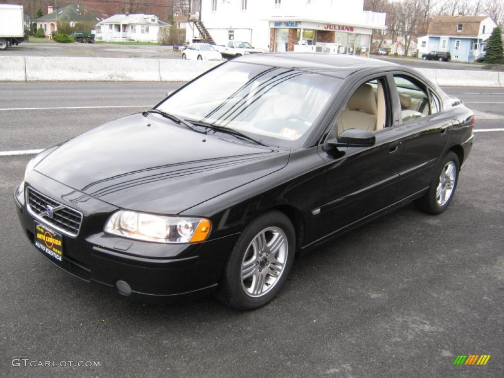 2006 black volvo s60 2 5t 27626508 car. Black Bedroom Furniture Sets. Home Design Ideas