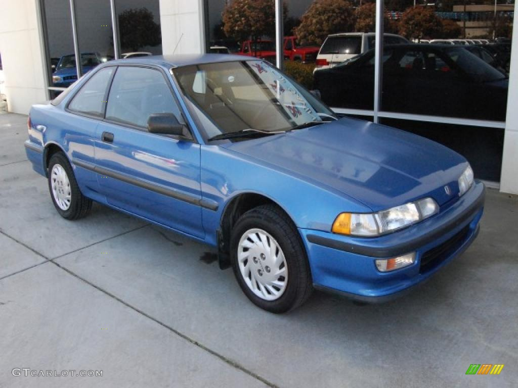 Saxony Blue Metallic Acura Integra RS Coupe - 1993 acura integra for sale