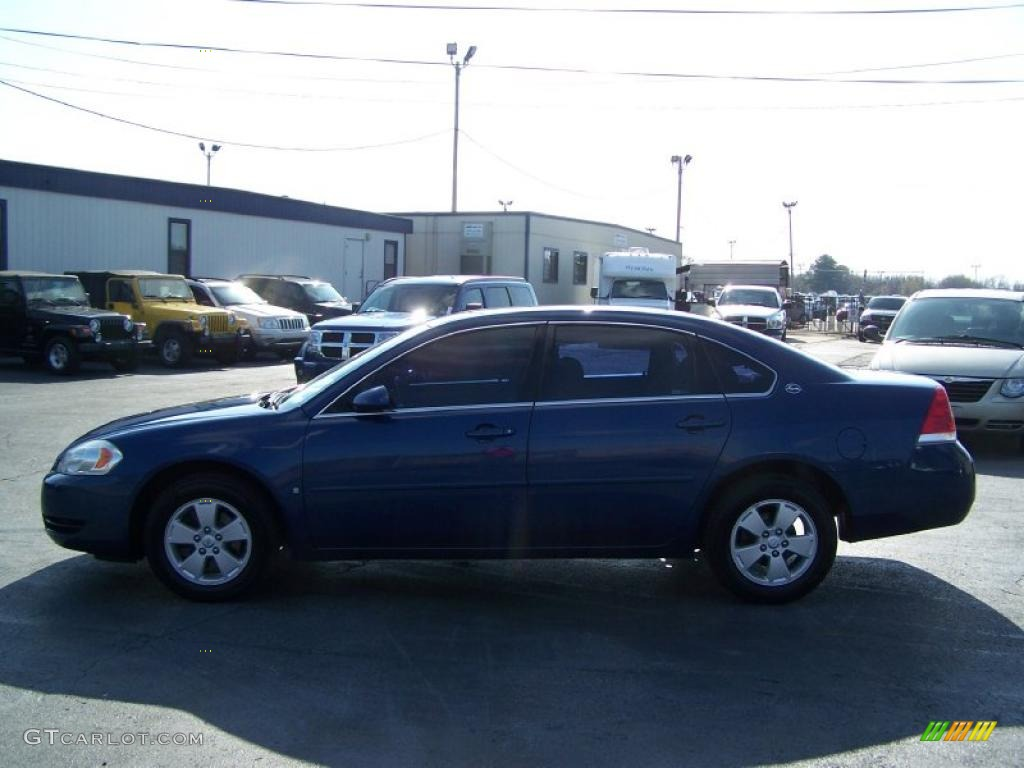 2006 Laser Blue Metallic Chevrolet Impala Lt 27771268 Car Color Galleries