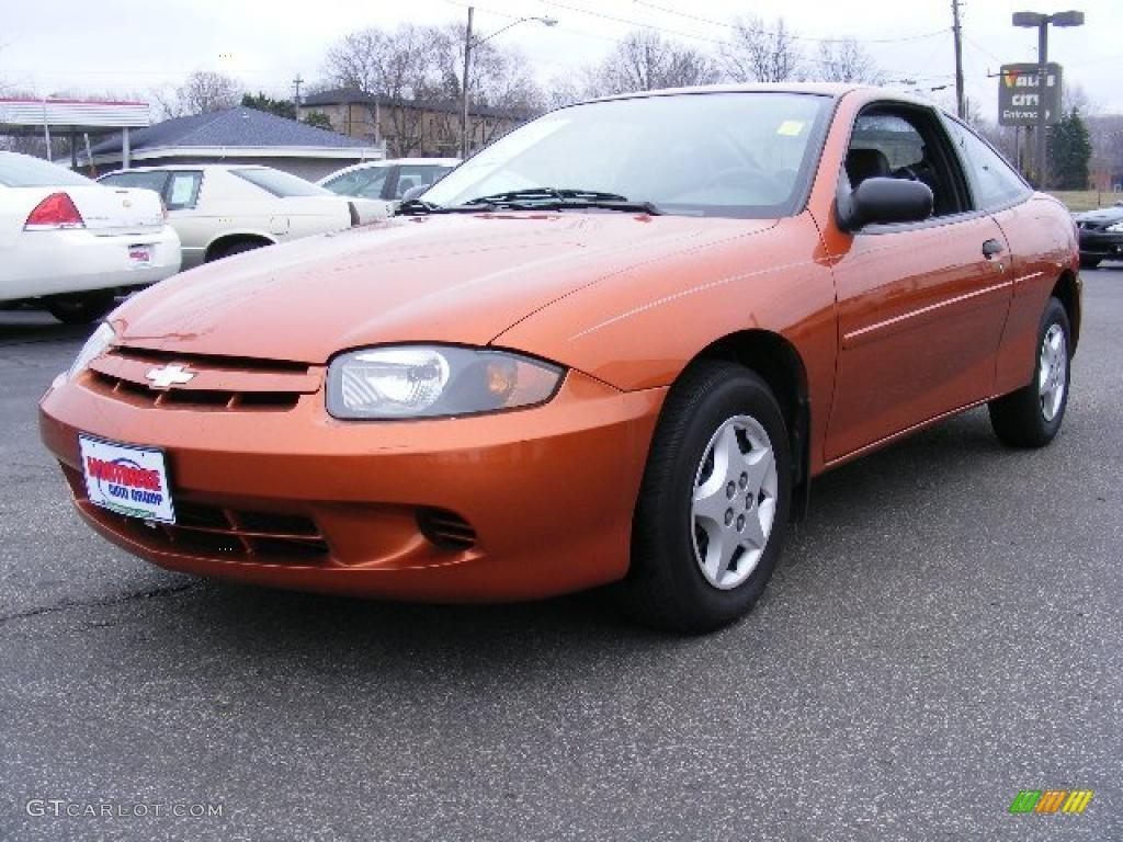 2004 chevrolet cavalier coupe sunburst orange color graphite. Cars Review. Best American Auto & Cars Review