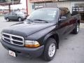 2004 Black Dodge Dakota SXT Club Cab  photo #2